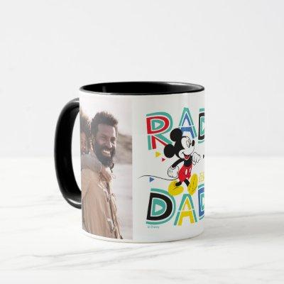 Mickey Mouse | Rad Like Dad Photo Mug