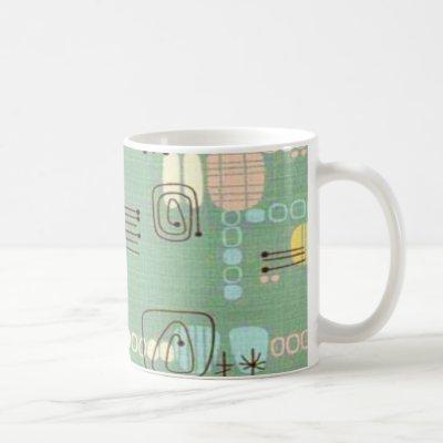 Mid Century Modern Graphic Design Coffee Mug
