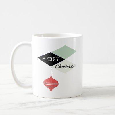 Mid-Century Modern Retro Holiday Style Coffee Mug