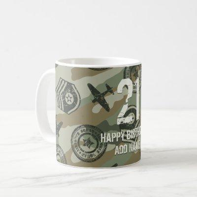Military badges coffee mug