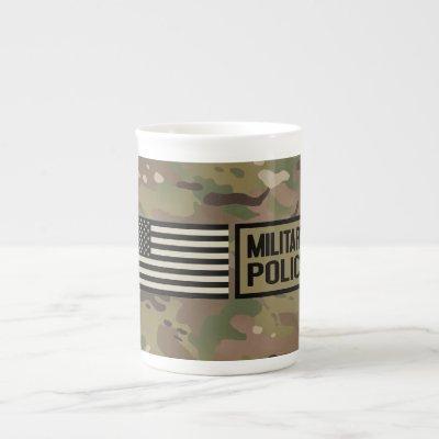 Military Police (Camouflage) Bone China Mug
