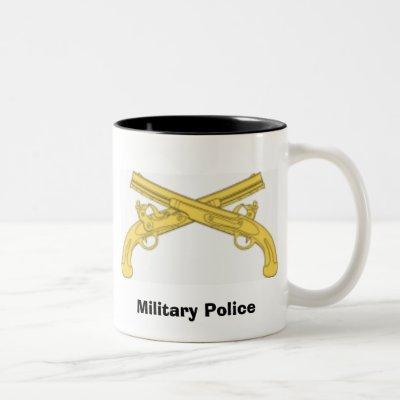 military police, Military Police Two-Tone Coffee Mug