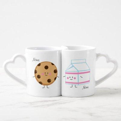 Milk and Cookie Lovers Mugs