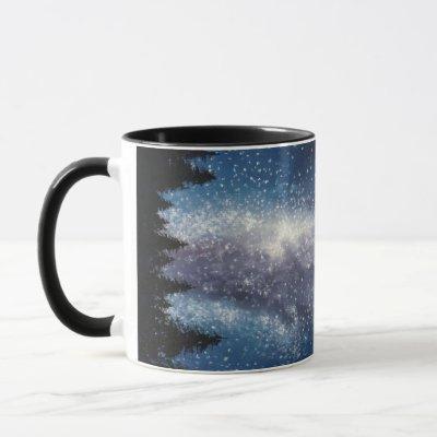 Milky Way Galaxy Painting Mug