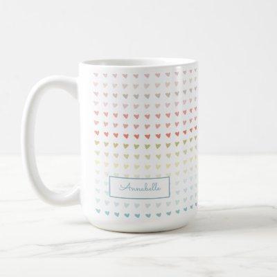 Mini Ombre Sweethearts Coffee Mug