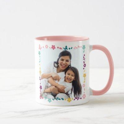 Minnie Mouse Custom Photo - Happy Mother's Day Mug