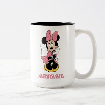 Minnie Mouse | Posing in Pink Two-Tone Coffee Mug