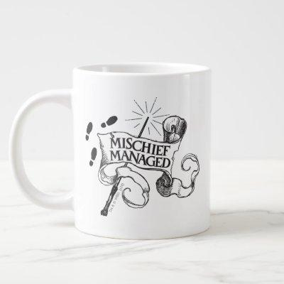 Mischief Managed Giant Coffee Mug