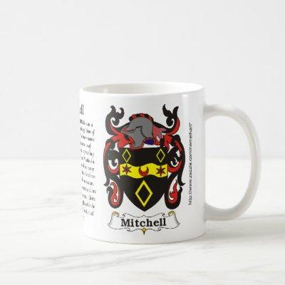 Mitchell Family Coat of Arms a mug
