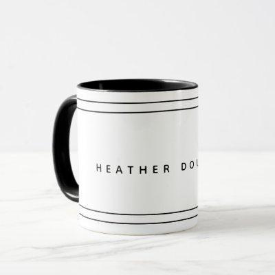 Modern Personalized Mug