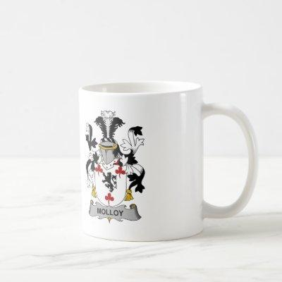 Molloy Family Crest Coffee Mug