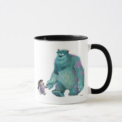 Monster's, Inc. Boo in costume with Sulley Disney Mug