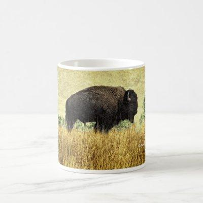 Montana Bison Coffee Mug