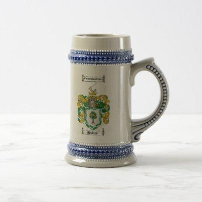 Mooney Coat of Arms Stein