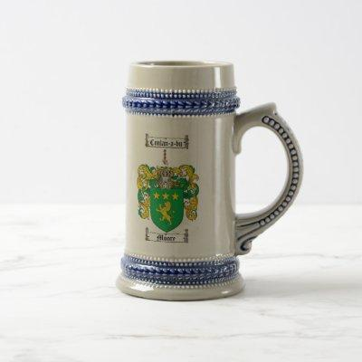 Moore Coat of Arms Stein