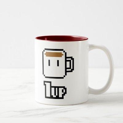 Morning Power Up Two-Tone Coffee Mug