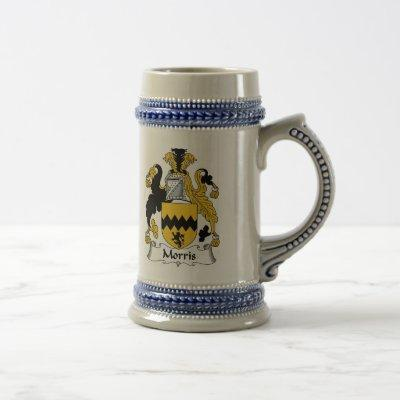Morris Coat of Arms Stein - Family Crest