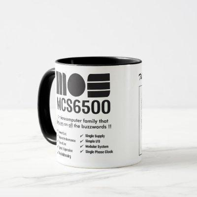 MOS 6500 Family of Microprocessors Mug