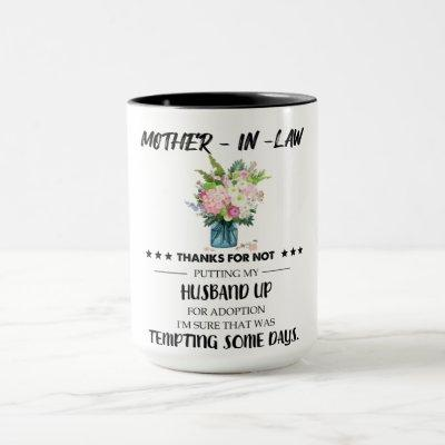 Mother In Law Gifts From Daughter In Law Mug