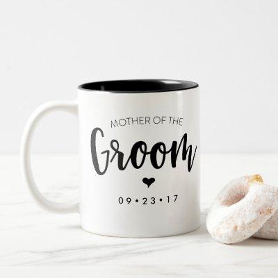 Mother of the Groom Mug Personalize Your Date