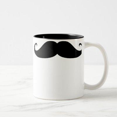 Moustache! Two-Tone Coffee Mug