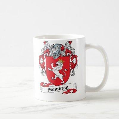 Mowbray Family Crest Coffee Mug