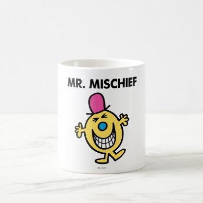 Mr. Mischief | Smiling Gleefully Coffee Mug
