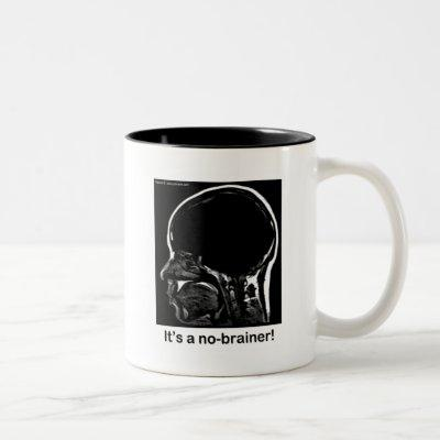 MRI: It's a no-brainer! Two-Tone Coffee Mug