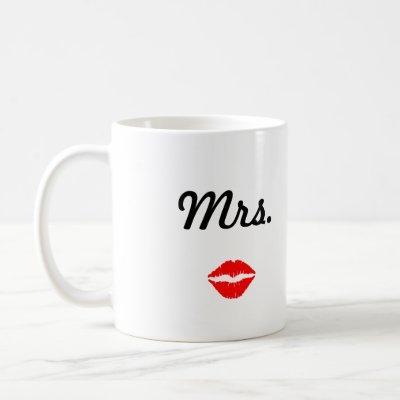Mrs. Mug with Lips
