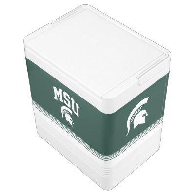 MSU Spartans Drink Cooler