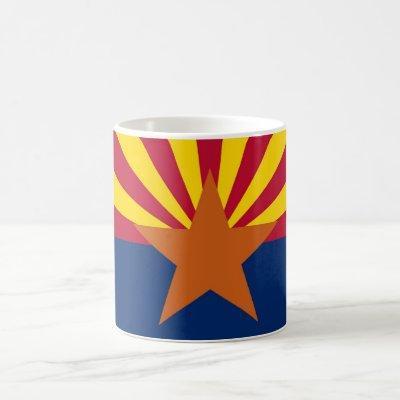 Mug with Flag of  Arizona State - USA