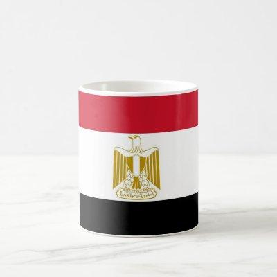 Mug with Flag of Egypt