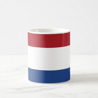 Mug with Flag of Netherlands