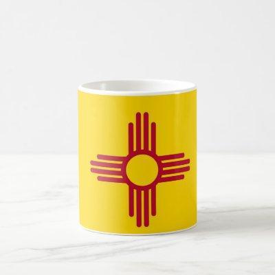 Mug with Flag of New Mexico State - USA