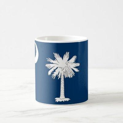 Mug with Flag of South Carolina State - USA