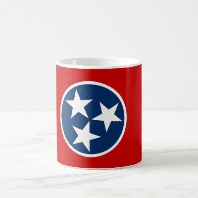 Mug with Flag of Tennessee State - USA