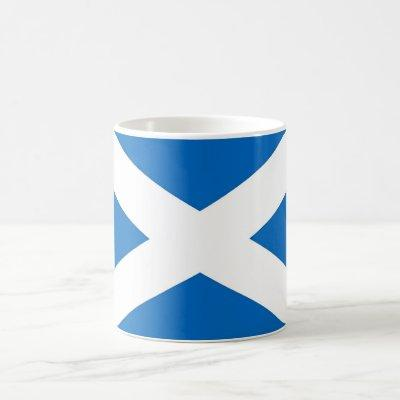 Mug with Flag of the Scotland
