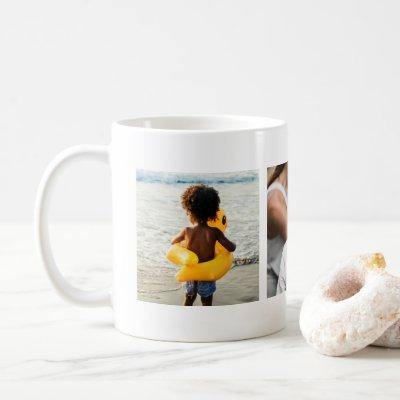 Multi Photo Grandparents Upload Picture Add Image Coffee Mug