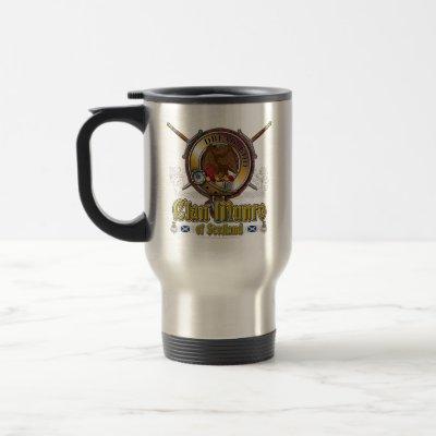 Munro Clan Badge Travel Mug
