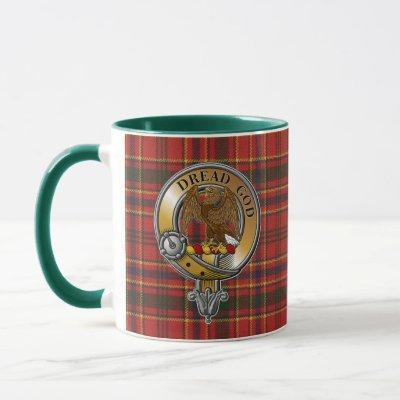 Munro Tartan & Badge Mug