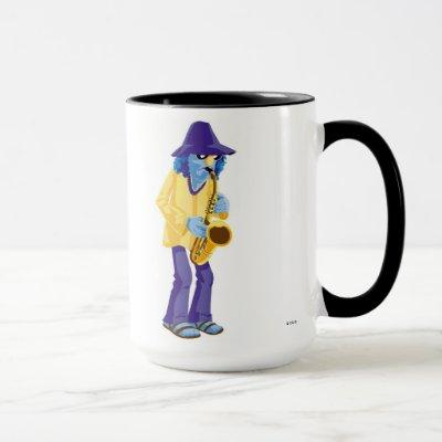 Muppets Zoot playing a saxophone Disney Mug