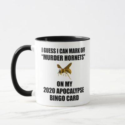 Murder Hornets 2020 Apocalypse Bingo Mug
