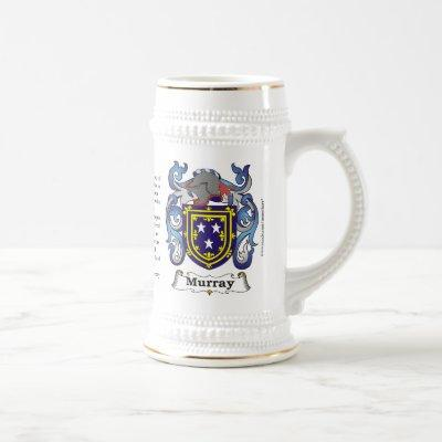 Murray, the Origin, the Meaning and the Crest Beer Stein