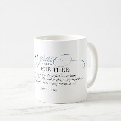 My Grace is Sufficient for Thee Coffee Mug