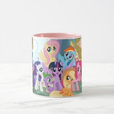 My Little Pony   Best Friends Group Mug