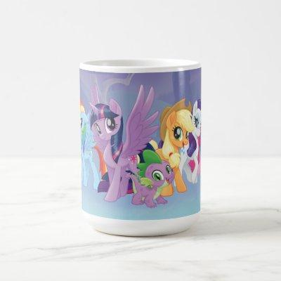 My Little Pony | Mane Six in Equestria Coffee Mug