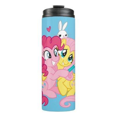 My Little Pony | Pinkie Pie & Fluttershy Selfie Thermal Tumbler