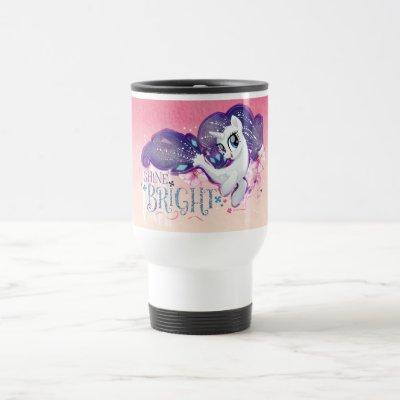 My Little Pony   Rarity - Shine Bright Travel Mug