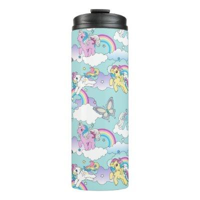 My Little Pony Retro   My Cloud Pattern Thermal Tumbler