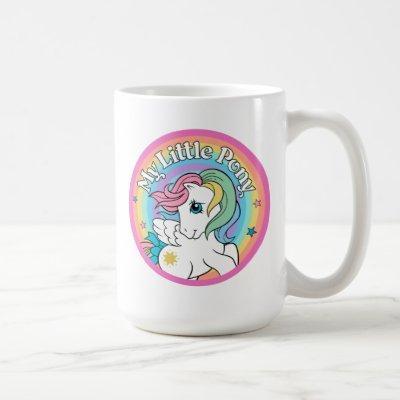 My Little Pony Retro   Starshine Logo Coffee Mug